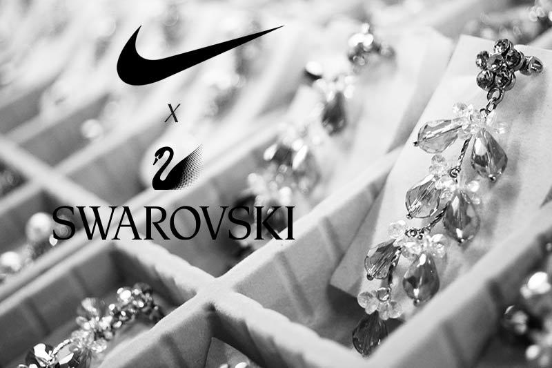 เมื่อเพชร Swarovski มาอยู่บน Nike air max