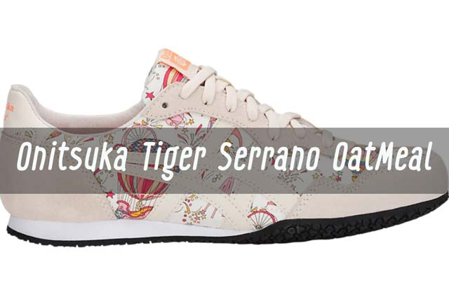 Onitsuka Tiger Serrano OatMeal ผ้าใบสายหวาน