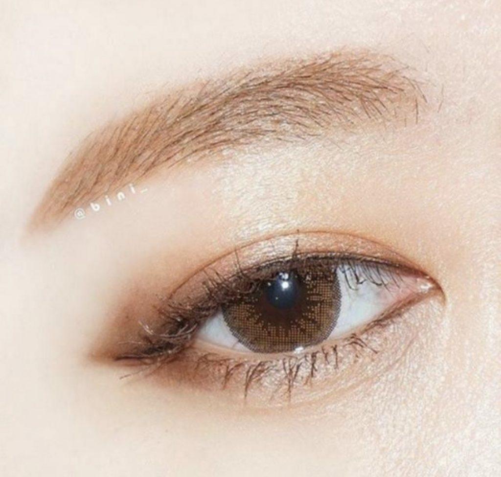 แต่งตาสีน้ำตาล 1