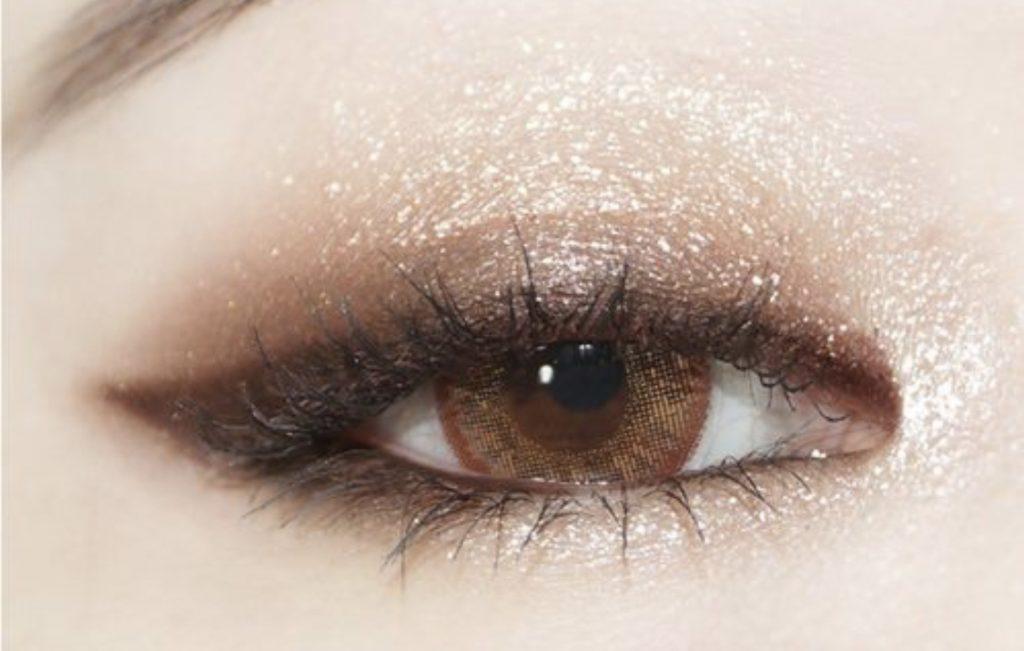 แต่งตาสีน้ำตาล 2