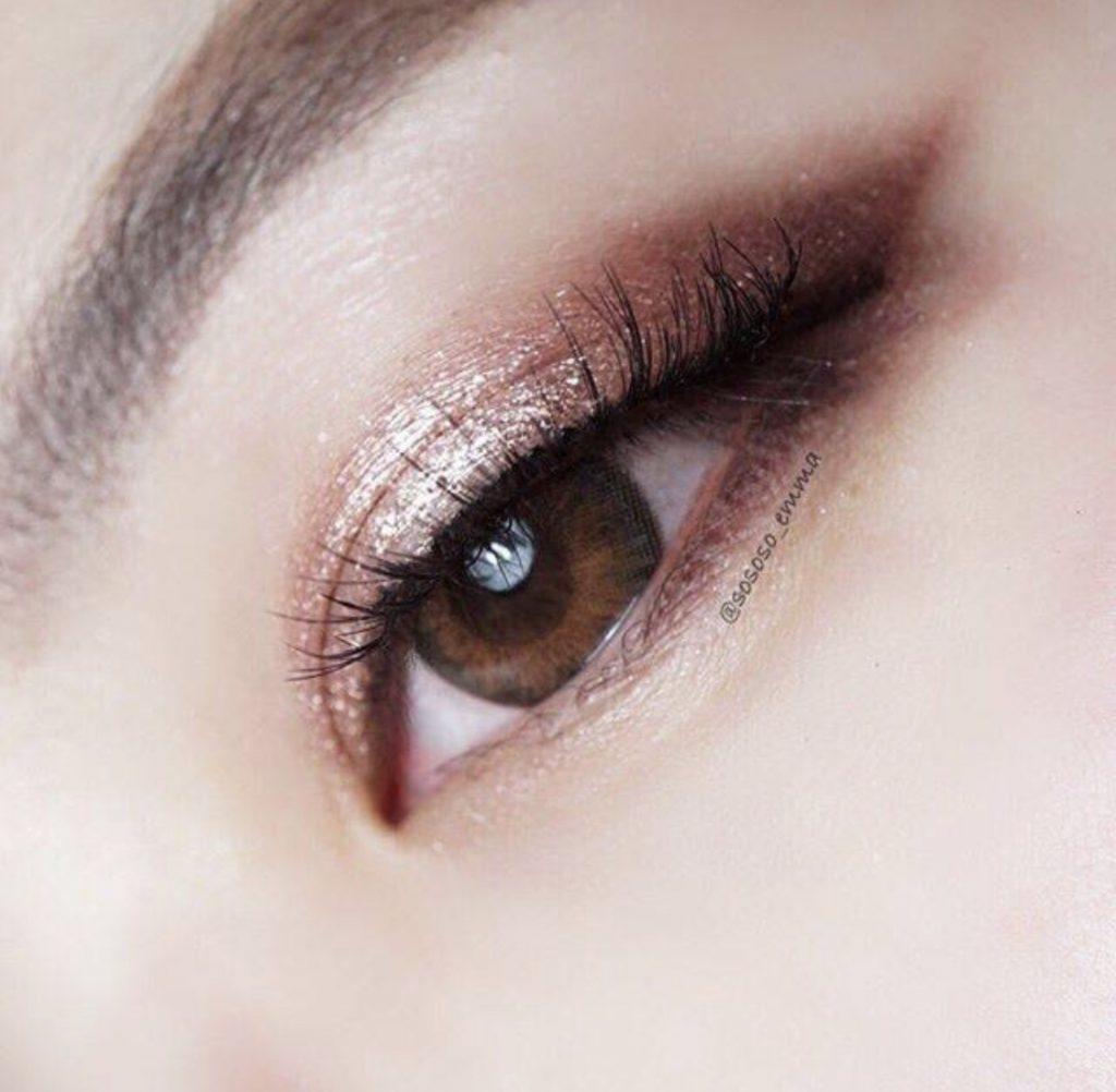 แต่งตาสีน้ำตาล 3