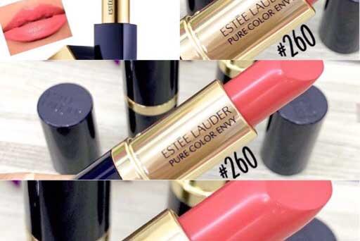 Estee Lauder Pure Color Envy Lipstick/Rouge #260 Eccentric