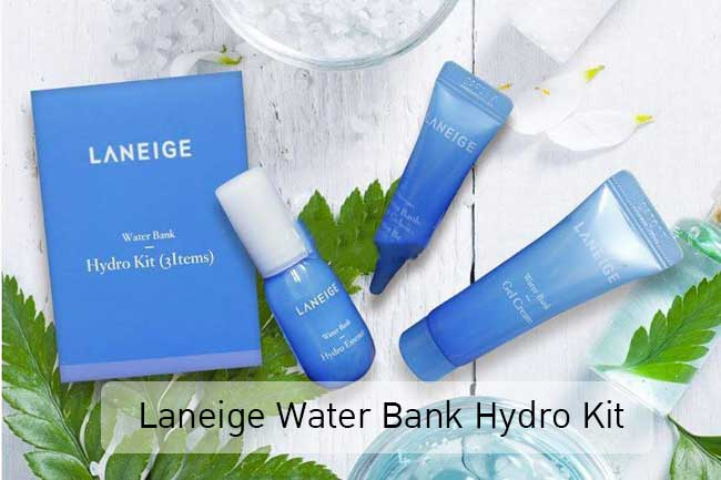 3Items ดูแลผิวหน้า Laneige Water Bank Hydro Kit