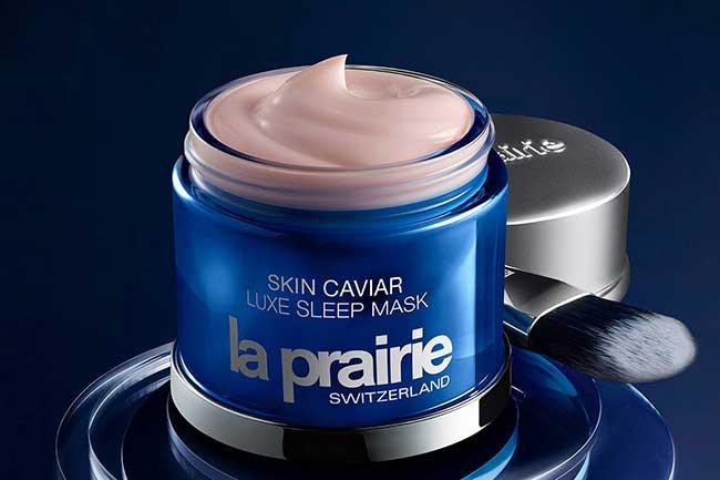 มาร์คก่อนนอน ตัวดัง la prairie skin caviar luxe sleep mask