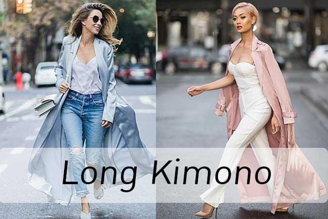 แฟชั่นที่ไม่แต่งไม่ได้แล้ว ! Long Kimono