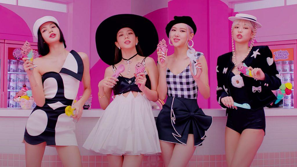 ส่องสไตล์การแต่งหน้าของสาว ๆ 'Selpink' ใน MV 'Ice Cream' แฟชั่นใหม่ การแต่งตัว ความงาม สไตล์การแต่งหน้า Selpink MVIceCream